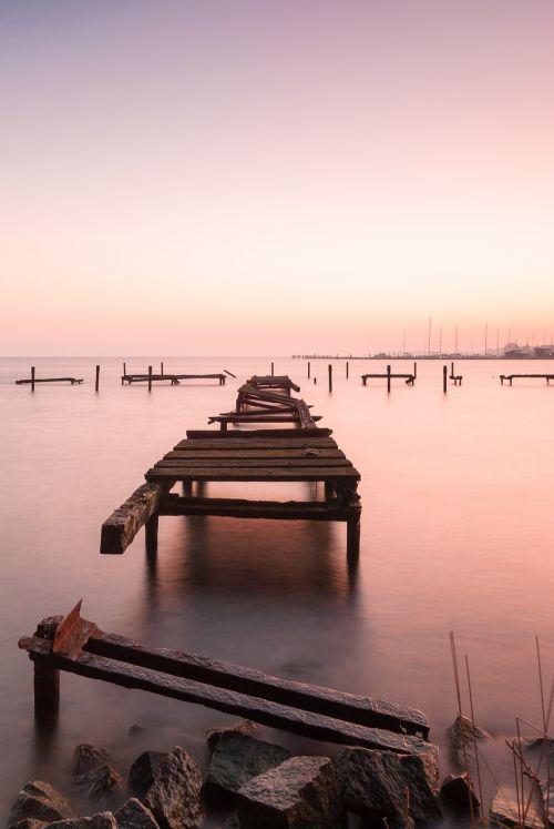 sunset decay bridge