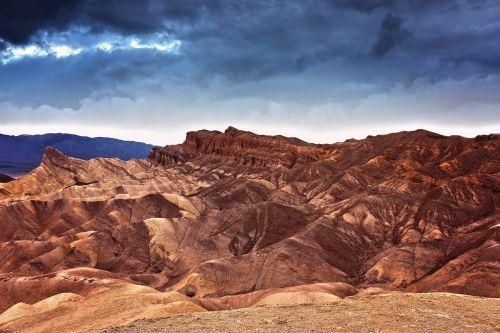 sunset death valley california
