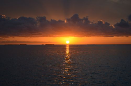 sunset key west southern most point