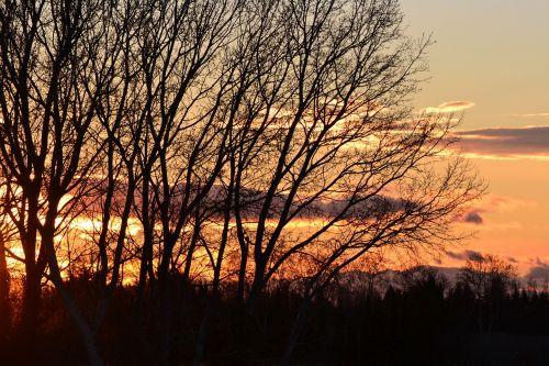 sunset our beautiful region gard