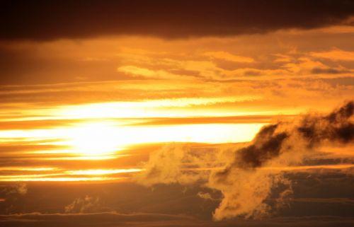 sunset sun setting sun