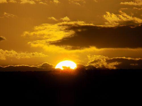 sunset south africa sky
