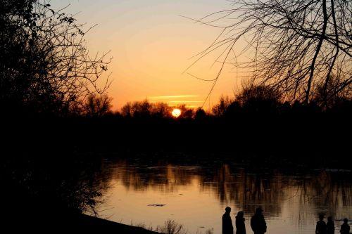 sunset main sky