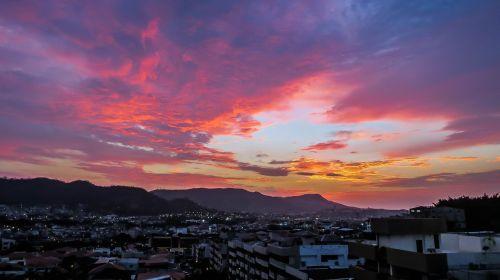 sunset equator guayaquil