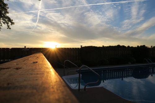 sunset sky evening