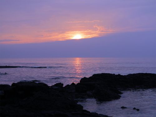 sunset glow jeju