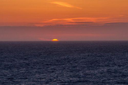 sunset cornwall south gland