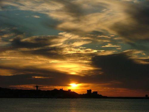 sunset bay st jean de luz