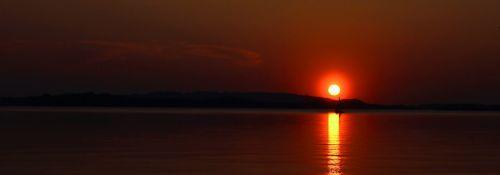 sunset chiemsee overseas