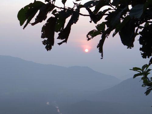 sunset western ghats sahyadri