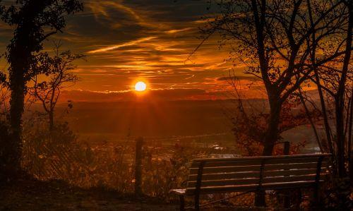 sunset wow background