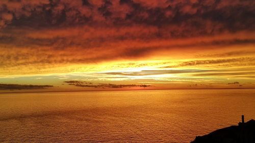 sunset port montevideo