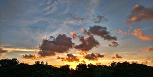 sunset havana cuba