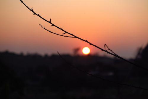 sunset sun before sunset