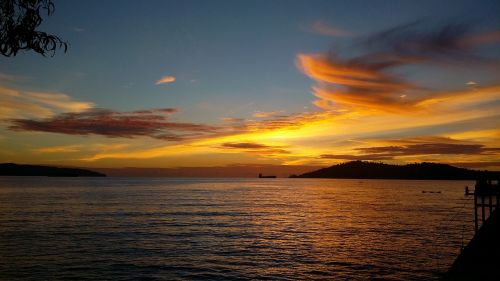 sunset kota kinabalu malaysia