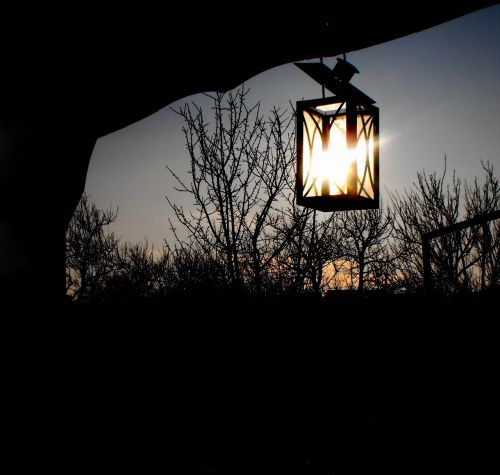 sunset kahanec candlestick