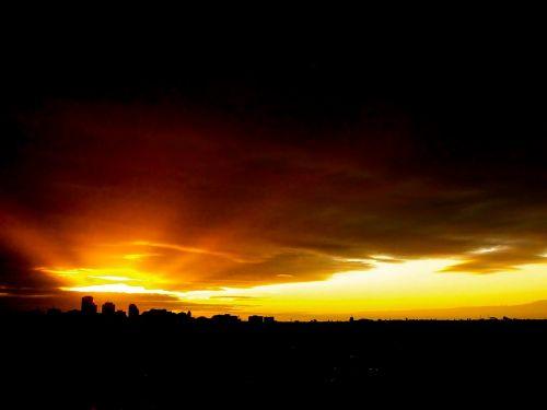 sunset australia adelaide