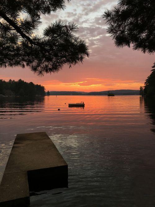 sunset lake new hampshire
