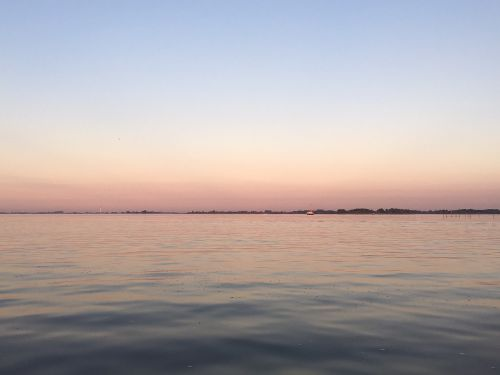 sunset friesland netherlands