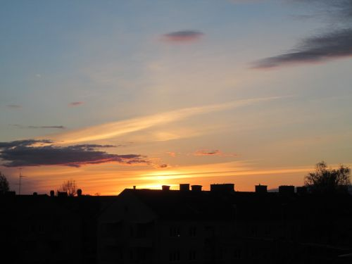 sunset beautifully beautiful