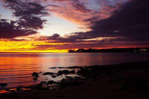 sunset darwin northern territory