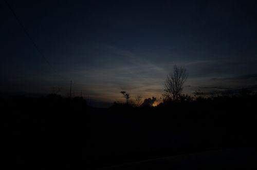 sunset kalimantan indonesia