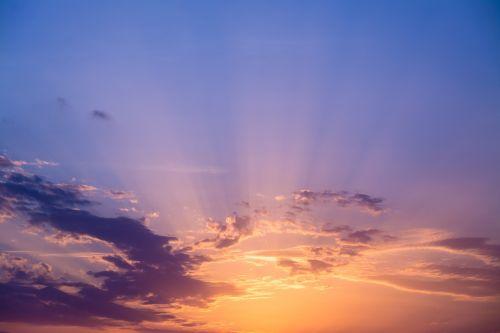 sunset wow sky