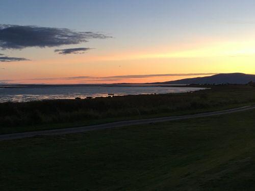 sunset scotland tranquil