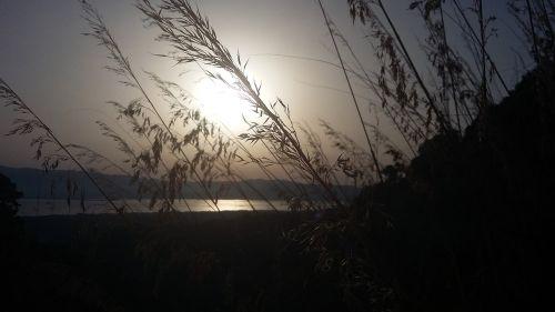 sunset calabria italy