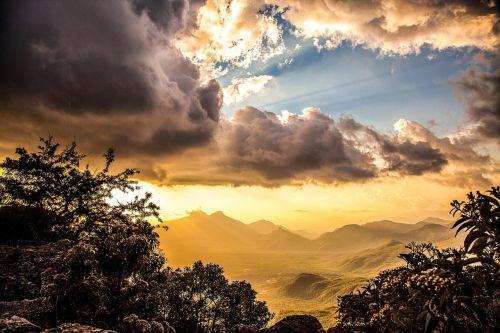 sunset angola huila
