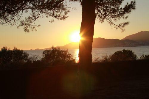 sunset marinca corsican