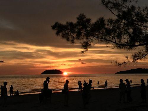 sunset at sabah
