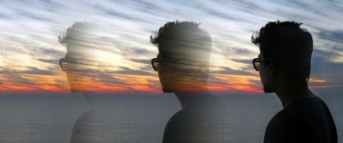 sunset horizon fade away