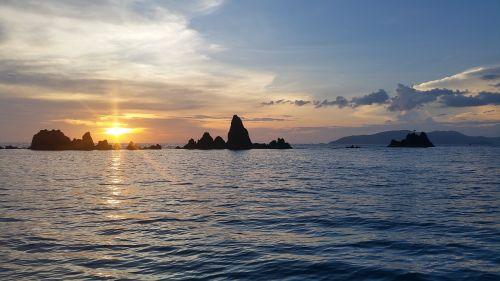 sunset view thailand