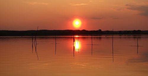 sunset neustrelitz abendstimmung