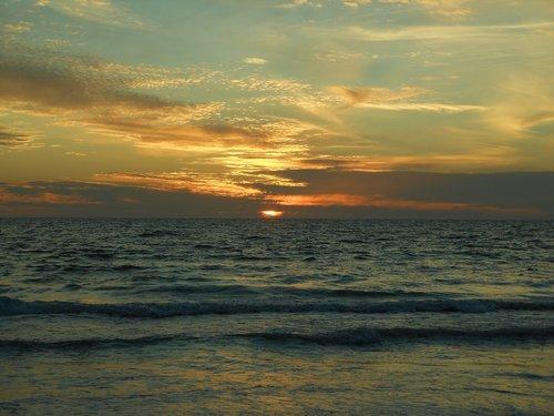 sunset  nature  dawn