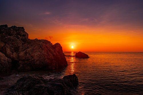 sunset  japan  light