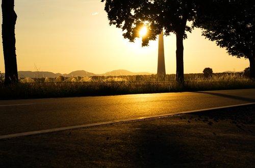 sunset  abendstimmung  twilight