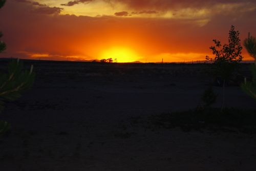 sunset golden sunset landscape