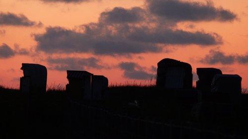 sunset  atmospheric  abendstimmung