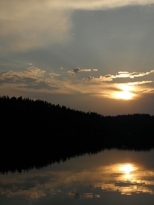 sunset summer savonlinna
