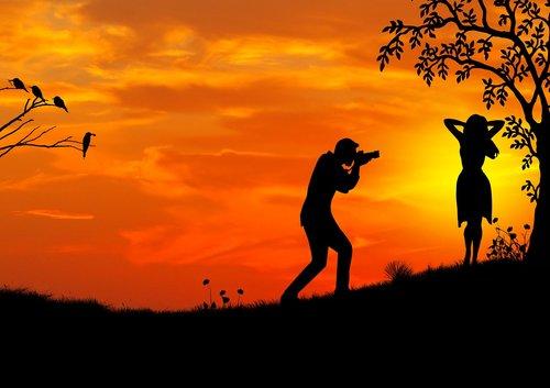 sunset  model  photographer