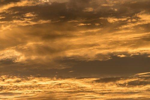 sunset  sky  orange