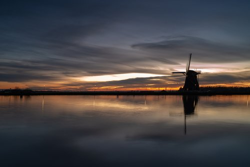 sunset  water  heaven