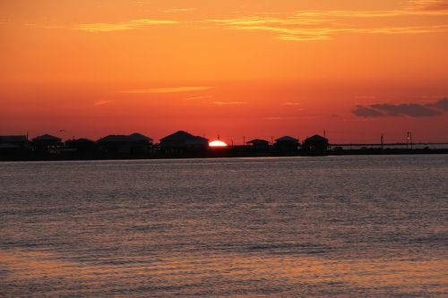 sunset grand isle louisiana