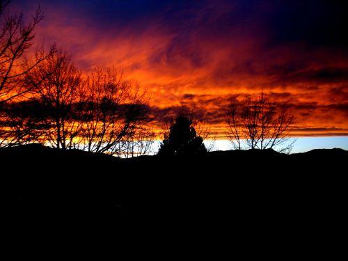 sunset pikes peak mood