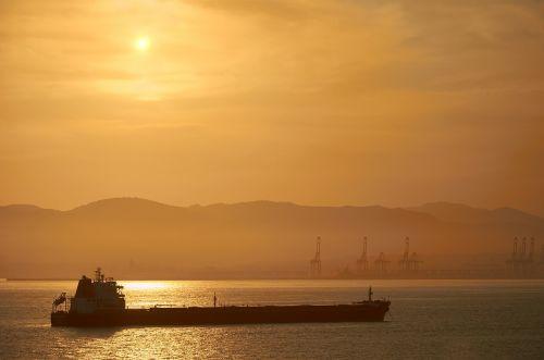 sunset tanker oil tanker