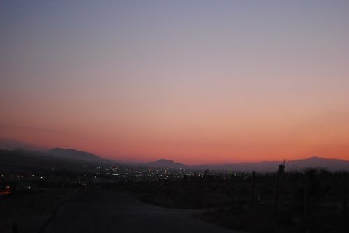 sunset ruhayba syria