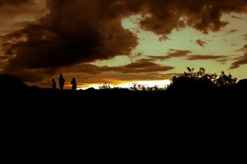 sunset nature mounts