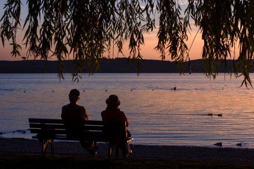 sunset lake constance unteruhldingen